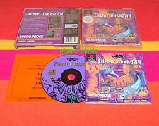 PS1 GAME  X-COM Enemy Unknown Very Good Condition xcom  Rare Playstation 1 PAL