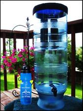 Berkey Light Water Filter Purify w 2 Black Filters + 1 Sport Bottle  w Warranty