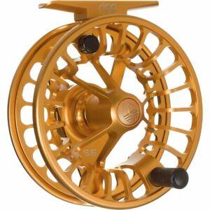 Redington 5-5508R91003 Rise Ambidextrous Angler 9/10 Fly Fishing Reel, Amber