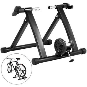 VEVOR Indoor Bike Trainer Portable Exercise Bicycle Stand Magnetic With Shifter