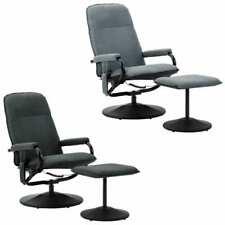 vidaXL Massagesessel Fußhocker Stoff Fernsehsessel Relaxsessel mehrere Auswahl M