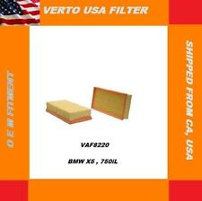 Verto USA Air Filter-Flexible Panel VAF8220 , BMW X5. 750iL
