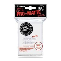Ultra Pro Pro-Matte Small Size Deck Protector Sleeves Pack: White 60ct
