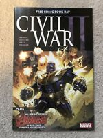 CIVIL WAR II #1 (Marvel 2016) FCBD Free Comic Book Day 1st App NADIA PYM Wasp
