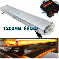 "48"" 88 LED Emergency Warning Beacon Tow Truck Plow Strobe Light Bar Amber"