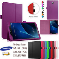 Samsung Galaxy Tab A 10.1 (2016) FLIP Leather Tablet Stand Cover Case T580 T585