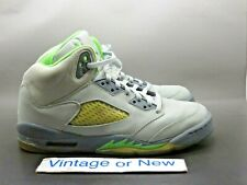 c192a068bf3557 New ListingNike Air Jordan V 5 Green Bean 2006 Retro GS 134092-031 sz 6.5Y