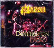 Saxon Live at traité Donington 1980 CD NEUF NEUF dans sa boîte/SEALED