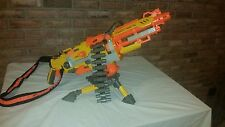 Nerf Vulcan EBF- 25 w/tripod stand mount and belt feeder, also with strap