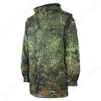 Flecktarn Camo German Army Field Jacket - Removable Liner Bundeswehr Repro New