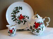Lefton Cardinal Tea Set