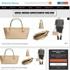 Established Handbag Store Online Business Website For Sale Mobile Friendly