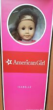 """New AG American Girl Doll 18"""" Isabelle Year Dance Ballet Outfit Blonde Blue Free"""