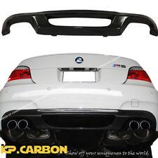 For 04-10 BMW E60 E61 M5 Model KP Carbon Fiber HM Type Rear Bumper Diffuser Lip