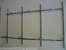 Regal Ladeneinrichtung Wandsystem Konfektionsrahmen Textil Regalsystem LC2