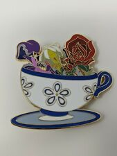 Golden Afternoon Flowers Alice In Wonderland Mad Tea Party Wdi Le250 Disney Pin