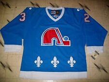 VINTAGE CCM NHL QUEBEC NORDIQUES HOCKEY JERSEY BRAND NEW W/TAGS SIZE 48 ALL SEWN