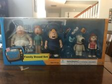 Family Guy Family Boxed Set Six Mezco Figures Peter Meg Lois (Stewie Missing)