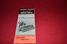 John Deere B Grain Drill Dealer Brochure GDSD6