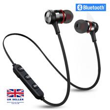 More details for sweatproof wireless bluetooth earphones headphones sport gym for samsung iphone