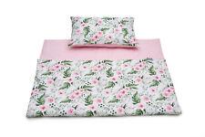 BABY BEDDING 2 pcs SET Pillowcase + Duvet Cover 120x90 to fit COT BED Cotton *EU