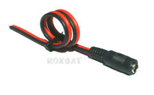 DC Power Pigtail Female Plug PIGTAIL-F