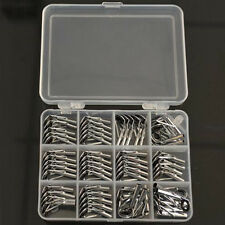 60Pcs 1.6-4.0mm Saltwater Ceramic Ring Fishing Rod Parts Stainless Repair Guides