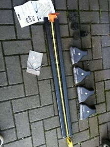 Thule  foot pack for Raised Roof Bars Complete with Locks and 4 Keys
