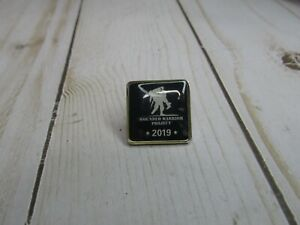 Wounded Warrior Project 2019 Pin Blue and silver