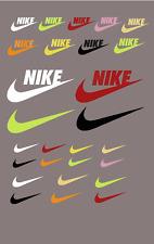"""nike""Glow In The Dark Iron-On Logo Diy Shirt Clothing Transfer Sticker 27 Psc"