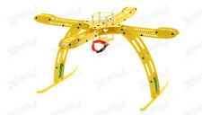 CR4-400 QuadCopter Fiber Glass KIT w/ Camera Mount (Yellow) RC Remote Control