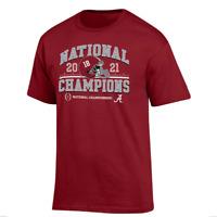NEW! Alabama Crimson Tide Champion National Championship 2021 T Shirt Size S-4XL