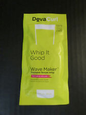 DevaCurl WHIP IT GOOD Wave Maker Touchable Texture Whip, 1oz X3