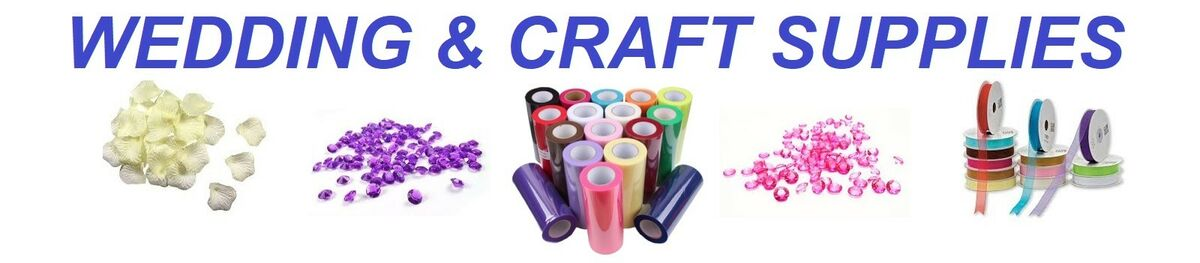 WEDDING AND CRAFT SUPPLIES