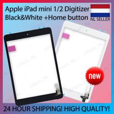 Apple iPad mini 1/2 Digitizer Black&White + Home Button For A1489/A1490/A1455