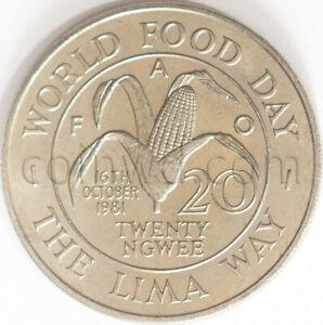 Zambia 20 ngvu 1981 FAO (#5503)