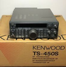 Kenwood TS-450SAT Ham Radio HF Transceiver w/ Ant.Tuner Works & Looks Great!