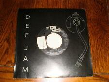 Beastie Boys 45 Fight For You DEF JAM PROMO