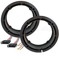 Lautsprecher Ringe für VW GOLF 4 IV 5 V BORA Adapter 165mm Lautsprecherring Auto