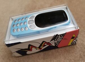 Original Brand New Nokia 3310 (2017) 3G - AZURE (Unlocked) Cellular Phone