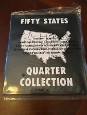 Fifty States Quarter Collection Album Folder
