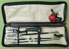 """New listing Vintage Johnson Executive Travel-Pac 5-pc 6' Rod & Guide 155 Reel in 20"""" Case"""