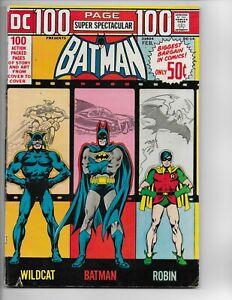 BATMAN #DC-14 - DC Comics 1973 - 100 Page Super Spectacular - Original Owner VG