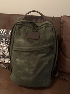 Goruck GR1 Heritage Waxed Canvas 21l Olive Limited Edition