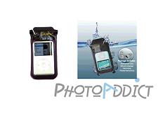 Housse étanche pour iPod & MP3 - DiCAPac WP-M20 - Etanche 10m - Certifié IPX8