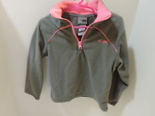 Girls Pull over coat Gray and pink Size XS (4-5)