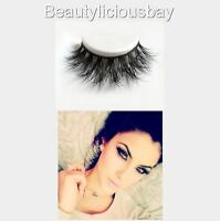 100% 3D REAL MINK LUXURY FALSE LASHES.*HANDMADE LUXURIOUS RUSSIAN VOLUME!* UK!