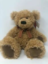 Russ Berrie Teddy Bear Brawson Light Brown Plush 14in Soft Stuffed Animal Toy