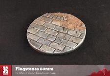 Flagstones 1 x 80mm round scenic resin base