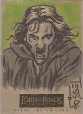 "Lord of the Rings Masterpieces - Tess Fowler ""Aragorn"" Sketch Card"